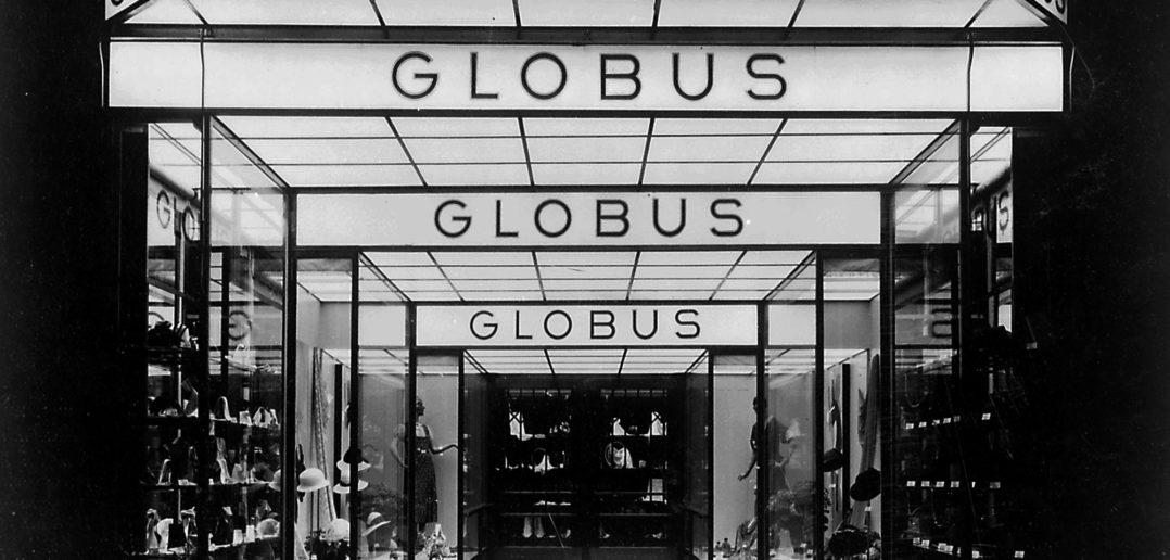 Globus Basel, Eingang, 1932 © Photographisches Institut der ETH Zürich