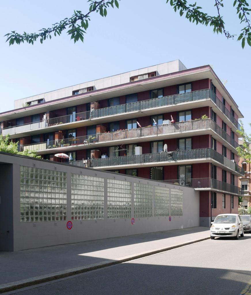Kommunales Wohnbauprojekt an der Müllheimerstrasse von Moger & Degelo © Architektur Basel