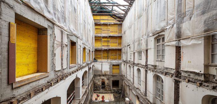 Sanierung Kaserne von Focketyn del Rio © Adria Goula