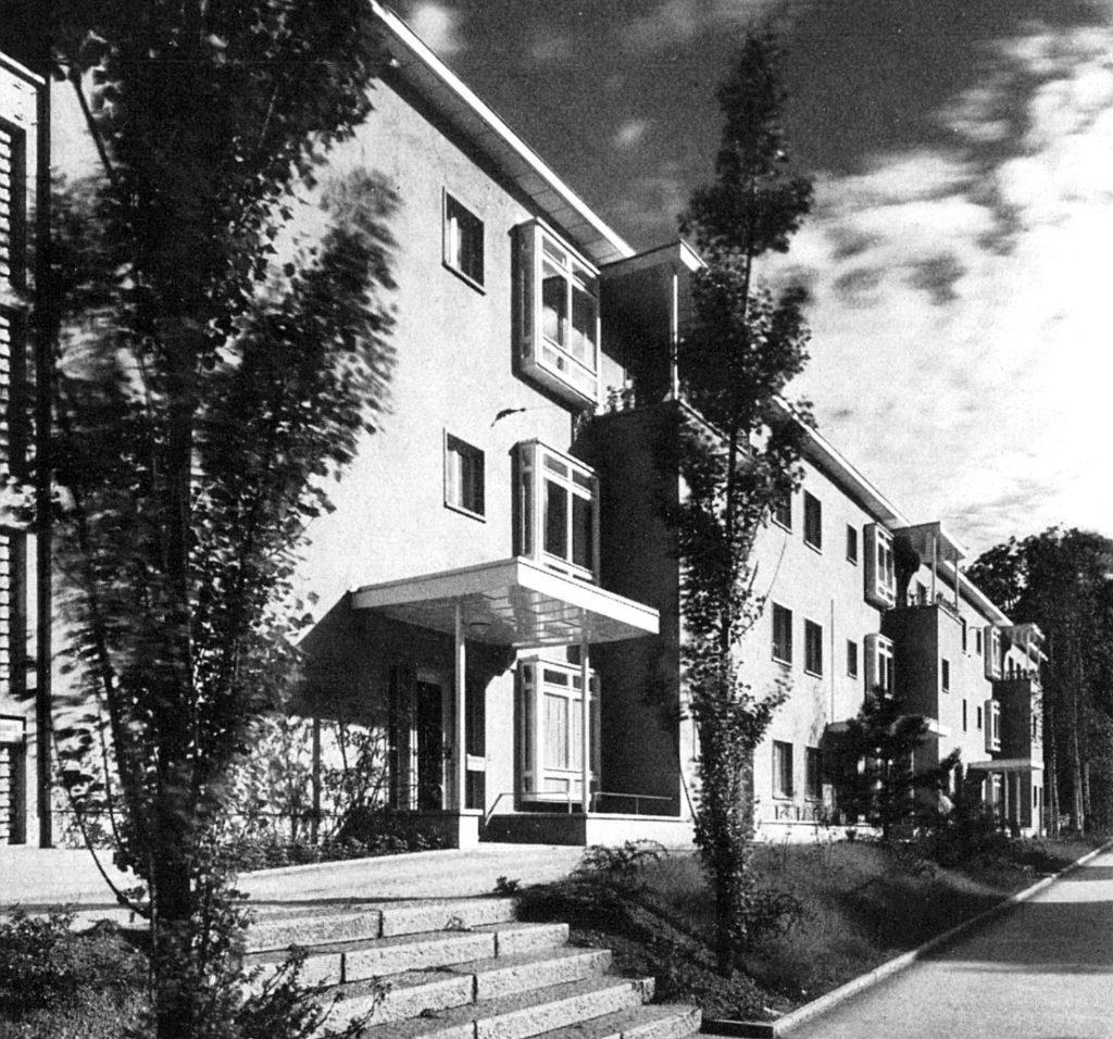 Infektionskrankenhaus (1943-36) von Hans Schmidt © Peter heman
