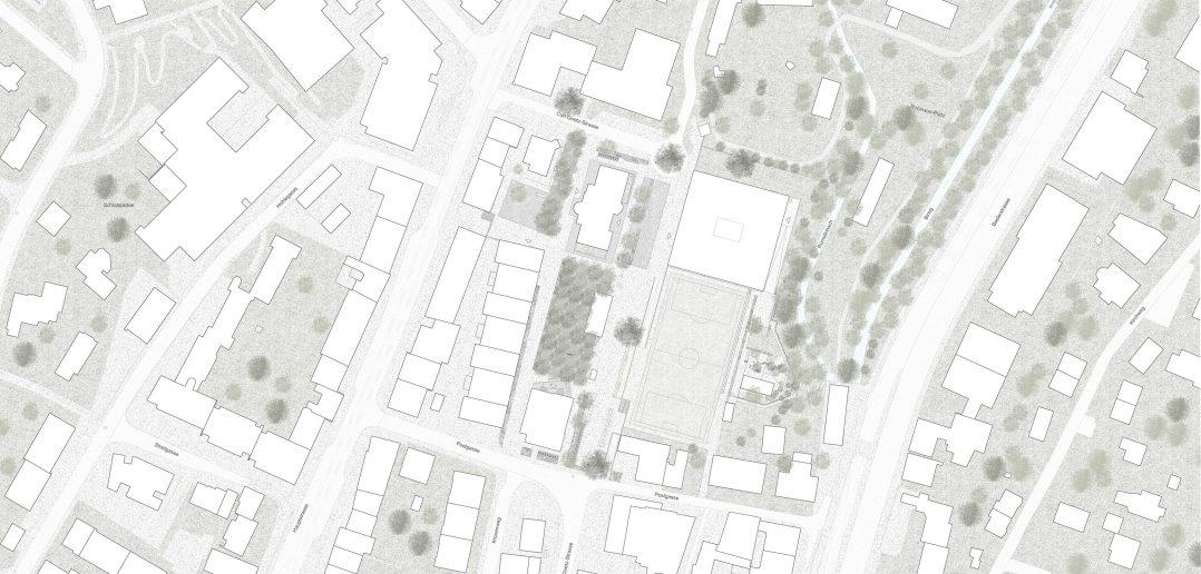 Situationsplan © Weyell Zipse Architekten & Hörner
