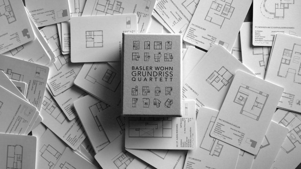 Basler Wohngrundrissquarett © Architektur Basel