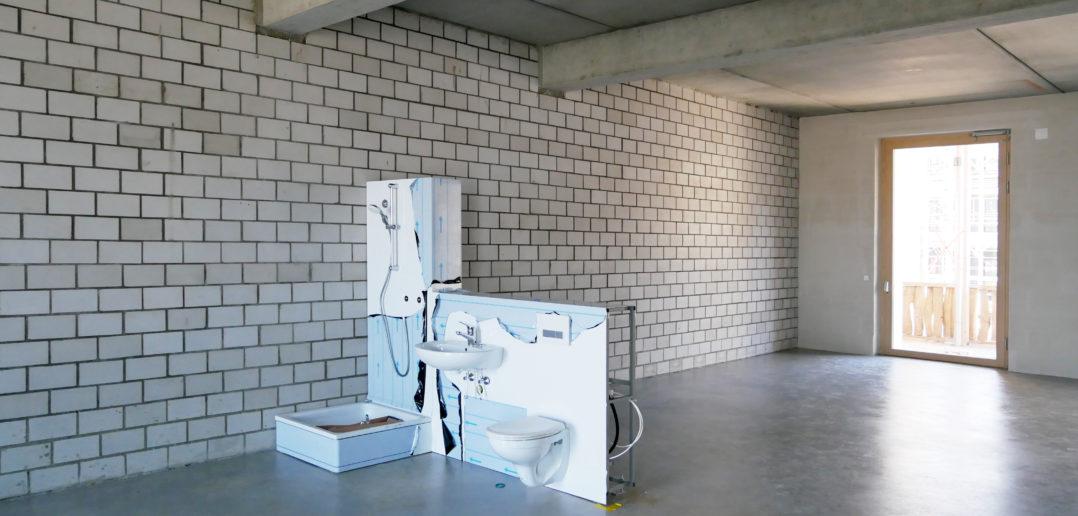 Coopérative d'Ateliers von Degelo Architekten auf der Erlenmatt Ost © Architektur Basel
