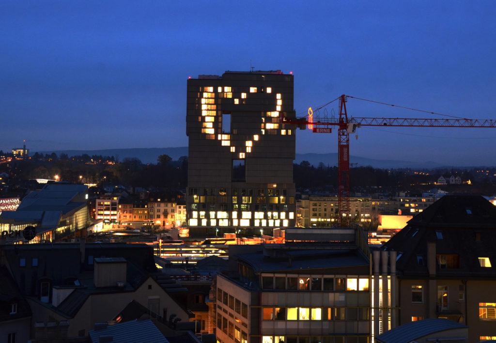 Hochhaus, ledig, sucht: Noch nie hat sich ein Hochhaus in Basel so liebenswert gezeigt