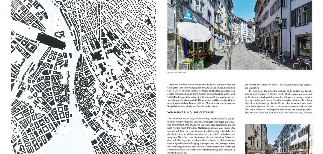 1:10'000 / Strasse – Neumarkt, Zürich © Hirmer Verlag GmbH, München
