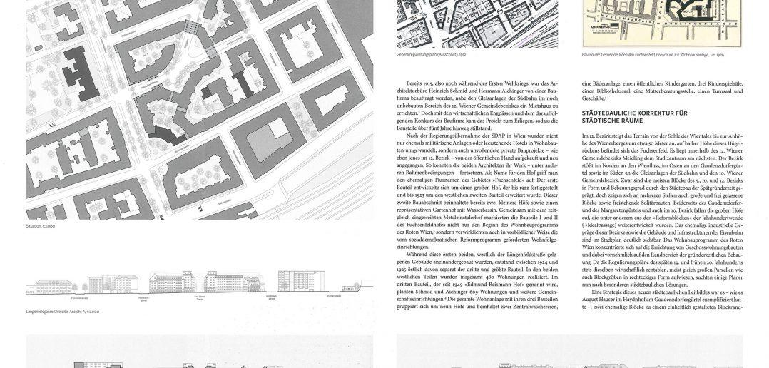 1:2'000 / Hof – Edmund-Reismann-Hof, Wien © Hirmer Verlag GmbH, München