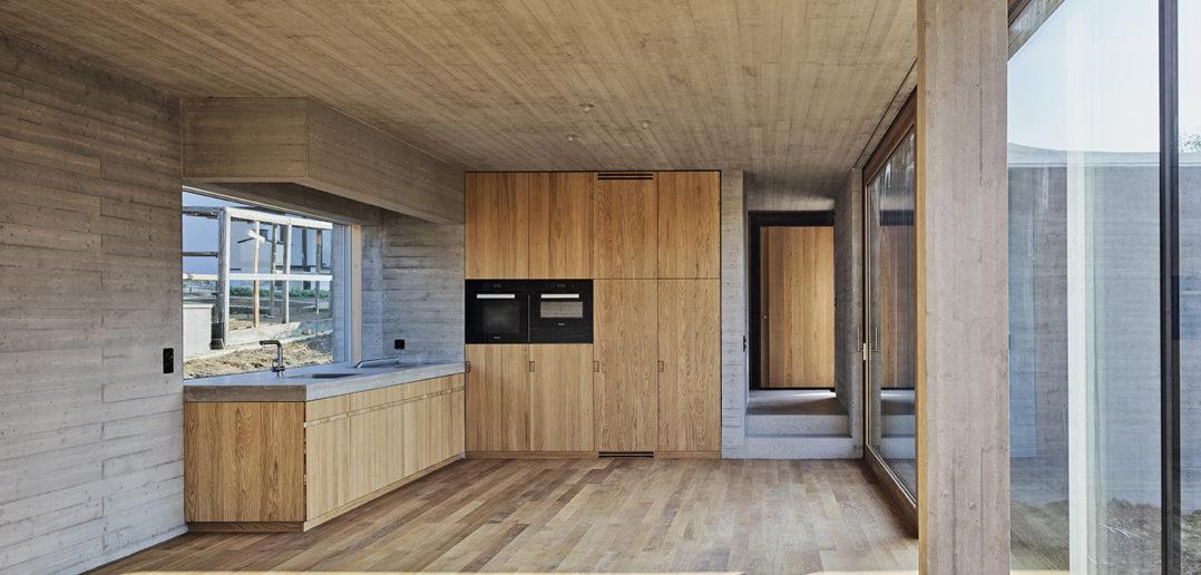 Wohnzimmer EG, Wohnhaus W, Seltisberg © Mark Niedermann Photography
