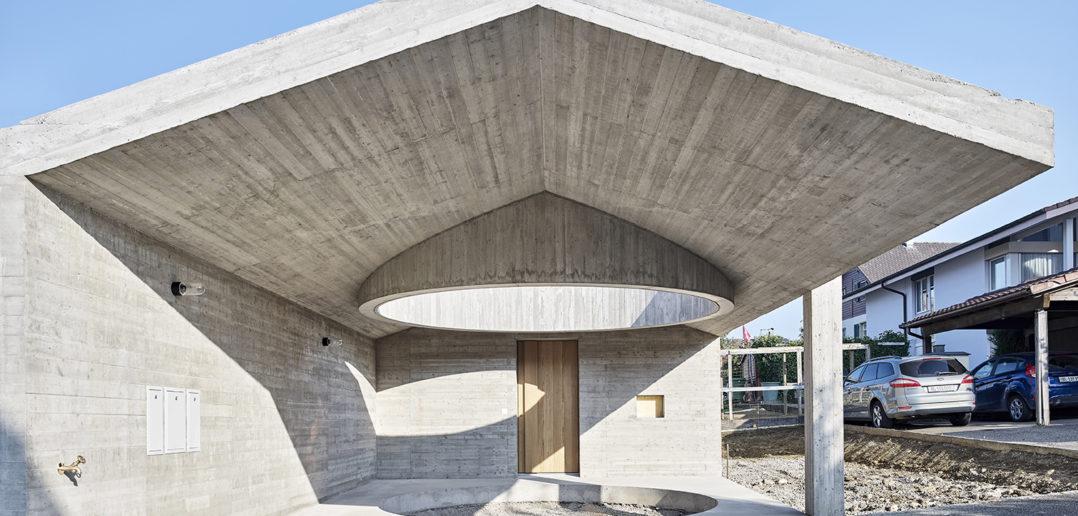 Ein rundes Ankommen, Wohnhaus W, Seltisberg © Mark Niedermann Photography