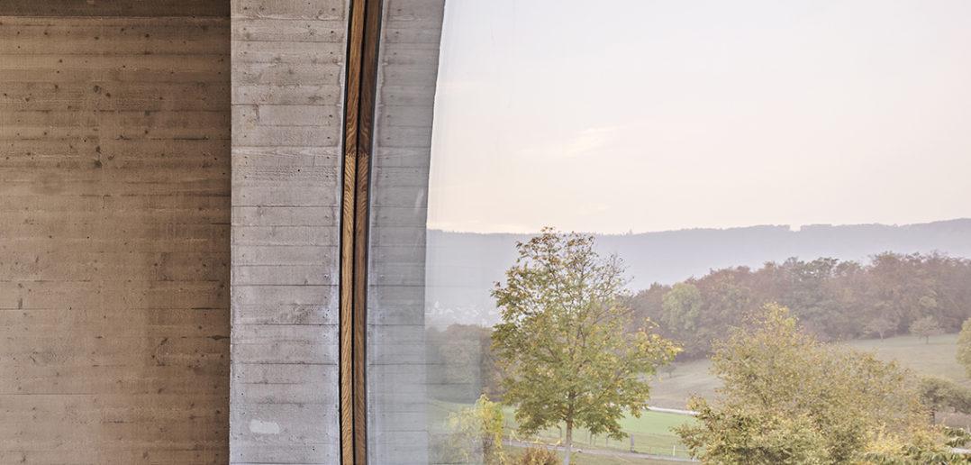 Unverbauter Ausblick OG, Wohnhaus W, Seltisberg © Mark Niedermann Photography