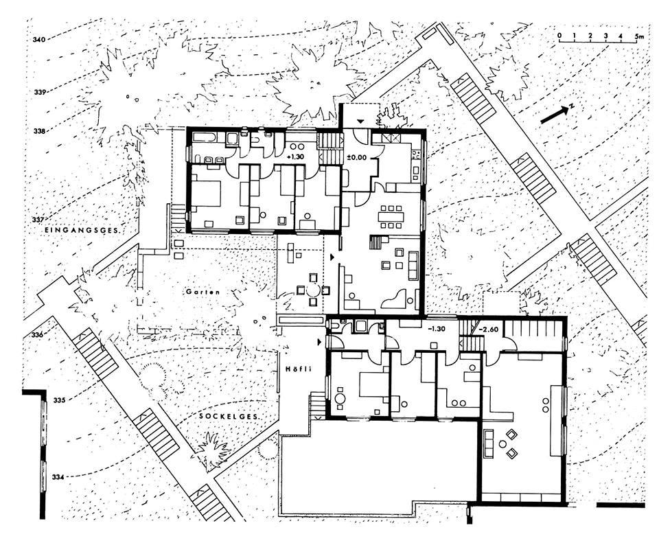 Siedlungs Jakobsberg II. Etappe von Hermann Baur, 1969