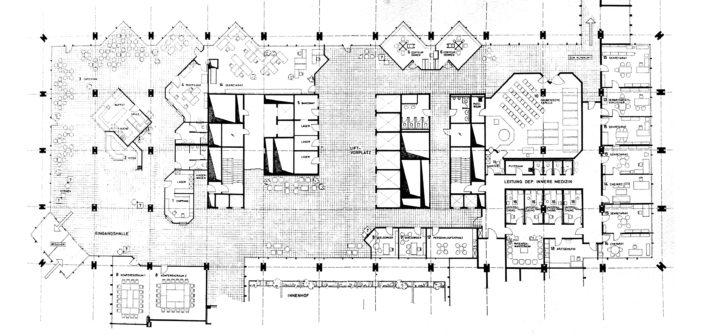 Klinikum 2 von Suter + Suter, 1974