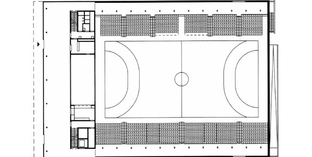 Sporthalle Rankhof, 2001