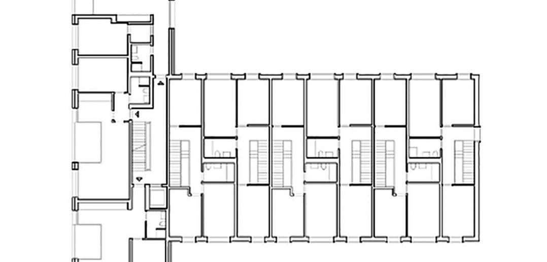 Grundriss Hofbebauung Hegenheimerstrasse