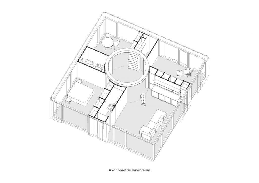 Bewegliche Elemente © Rahbaran Hürzeler Architekten