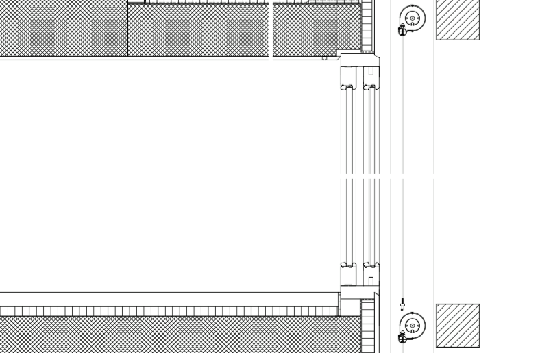 Konstruktionsschnitt © Morger & Degelo Architekten