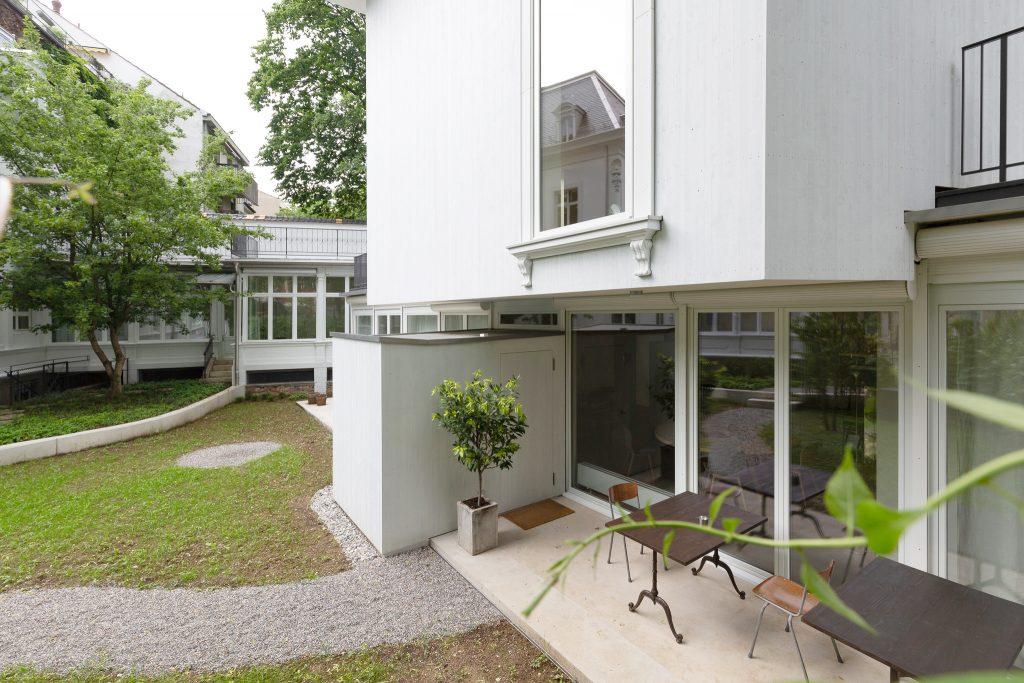 Villa Hammer von Sauter von Moos, 2018 © Architektur Basel / A. Schärer