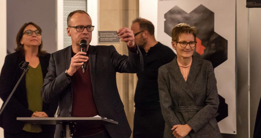 Auszeichnung Guter Bauten 2018 © Architektur Basel