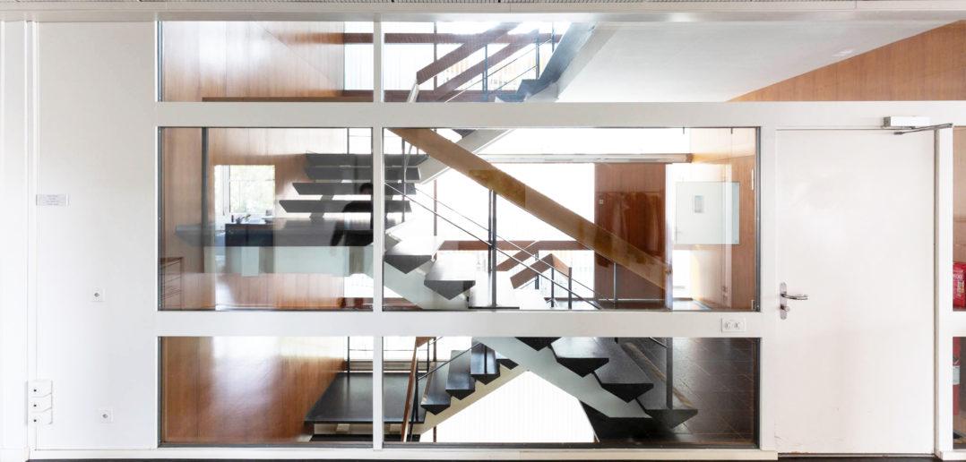 Atelier- und Bürohaus an der Peter Merian-Strasse von Burckhardt+Partner © Architektur Basel