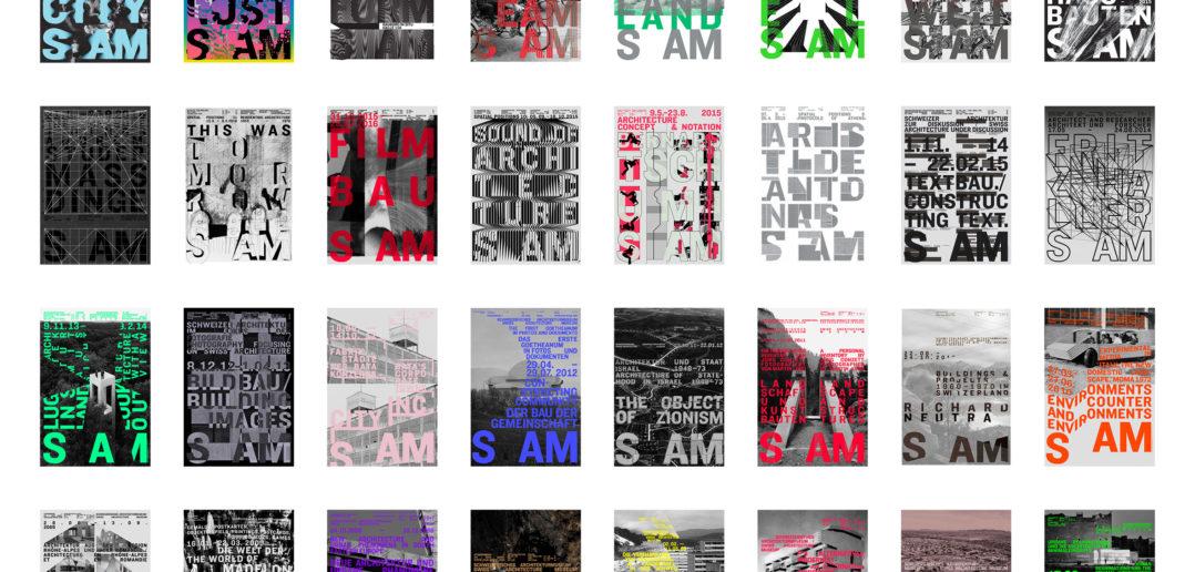 Die Plakate von Claudiabasel fallen durch ihre Farbigkeit auf © S AM Basel, Claudiabasel
