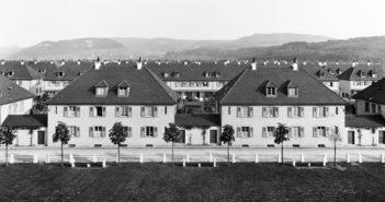 Die Häuser am Genossenschaftsplatz © Photo Hoffmann