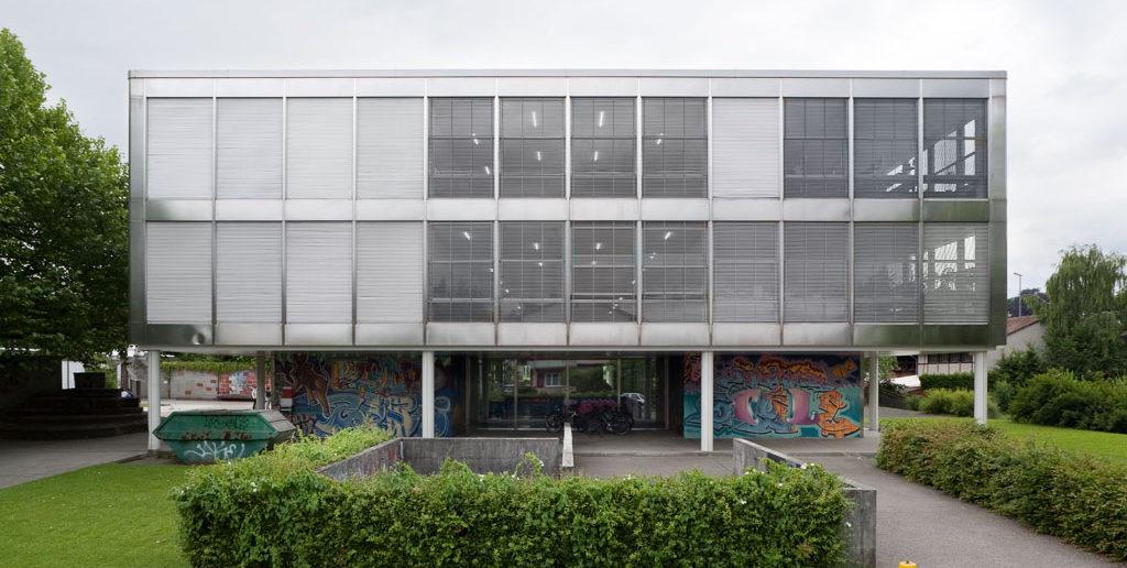 Schulhaus Breite, Allschwil © Börje Müller Fotografie