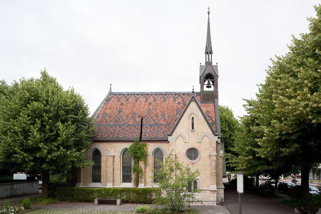Reformierte Kirche (1888), Allschwil © Börje Müller Fotografie