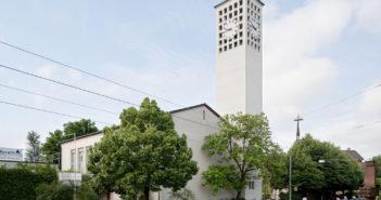 Reformierte Kirche (1932), Allschwil © Börje Müller Fotografie