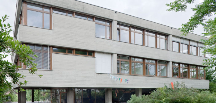 Schulhaus Schönenbuchstrasse, Allschwil © Börje Müller Fotografie