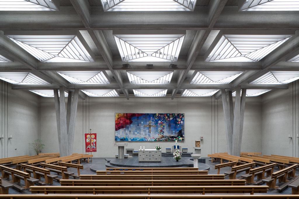 Römisch-katholische Kirche St.Peter und Paul, Allschwil © Börje Müller Fotografie