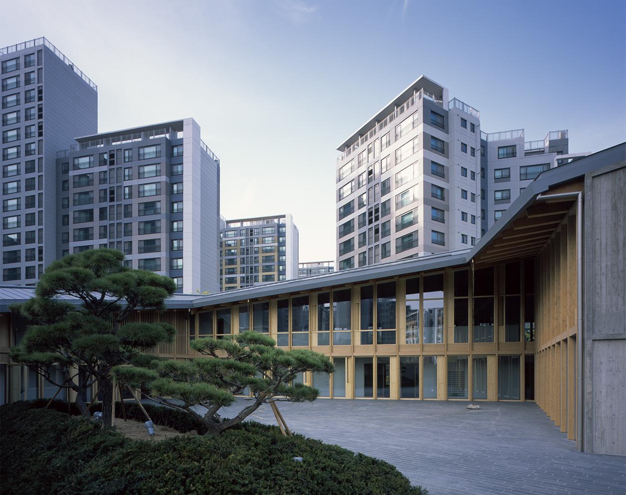 Schweizer Botschaft in Seoul von Burckhardt+Partner © Hélène Binet
