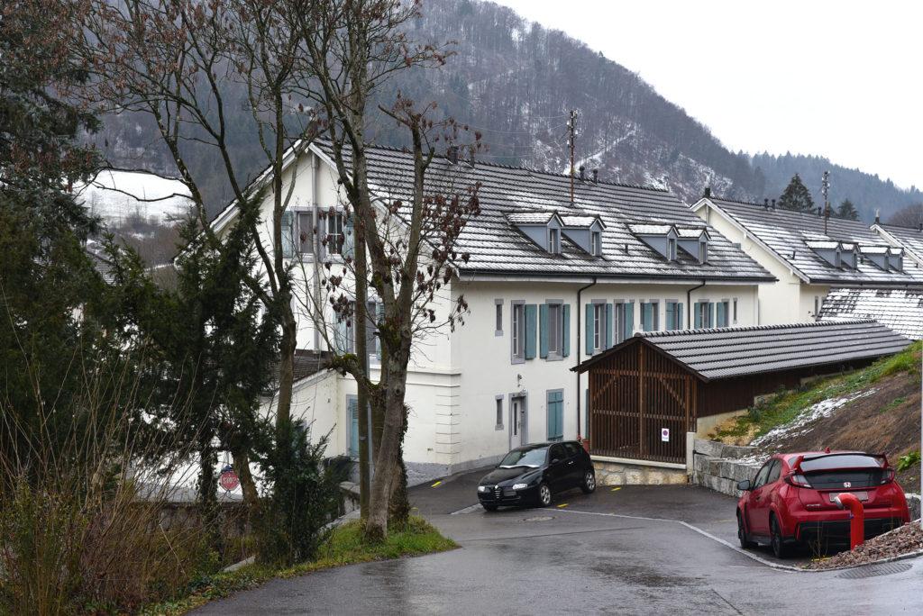 Arbeiterhäuser Grellingen © Architektur Basel