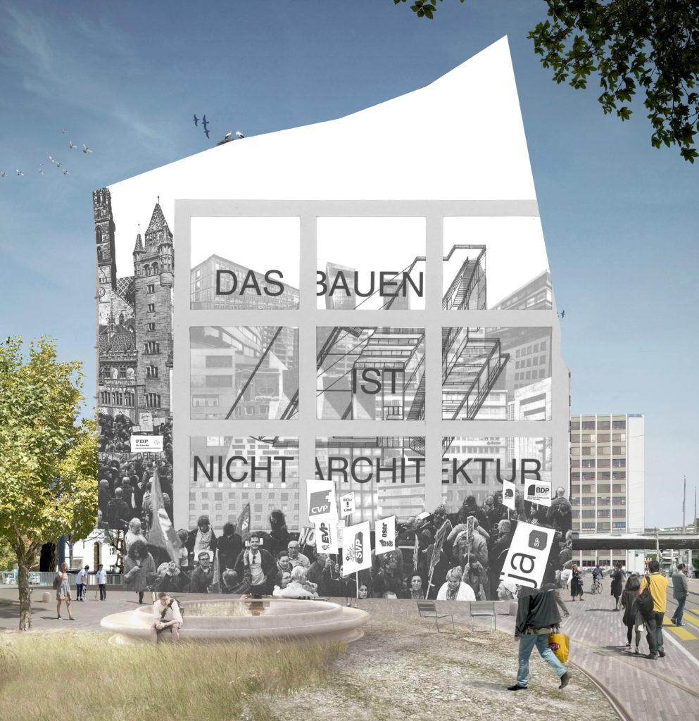 Architekturhaus an der Heuwaage © Architektur Basel