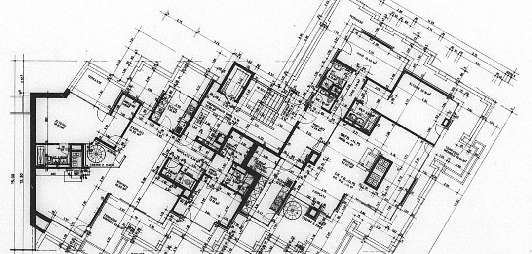 Attikageschoss Wohnhaus Wielandplatz © Burckhardt+Partner