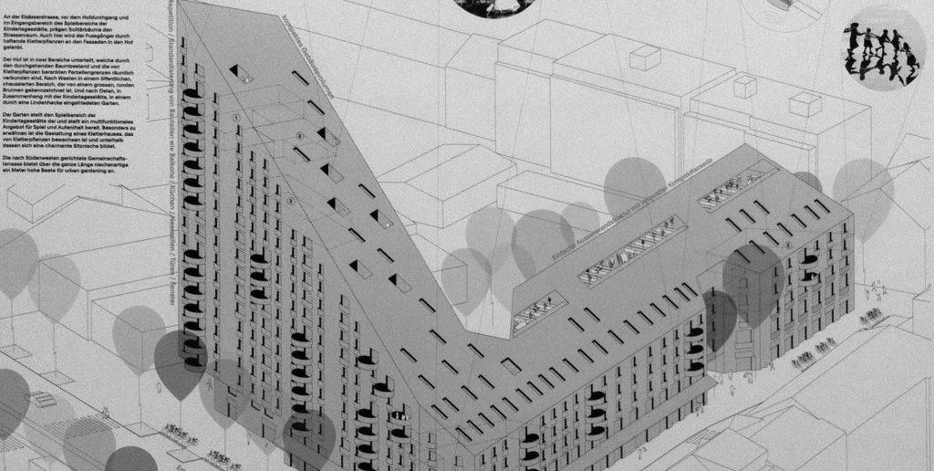 Wettbewerbsbeitrag Buchner Bründler Architekten