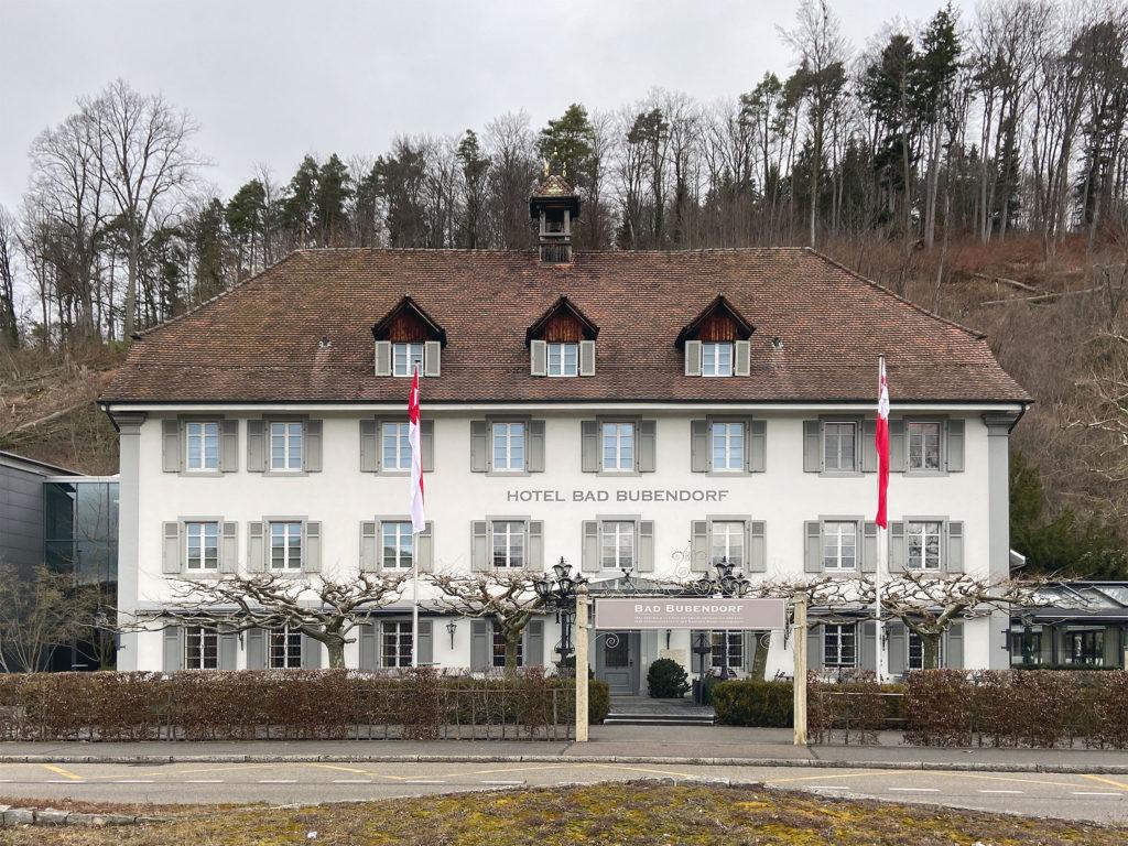 Historischer Altbau, Bad Bubendorf © Simon Heiniger / Architektur Basel