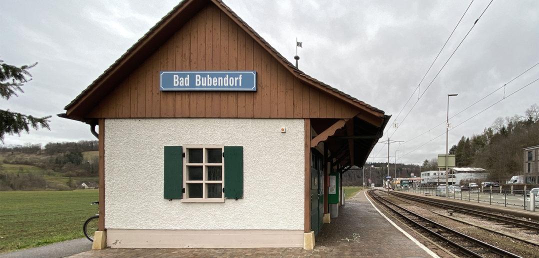 Historisches Stationsgebäude der Waldenburgerbahn © Simon Heiniger / Architektur Basel