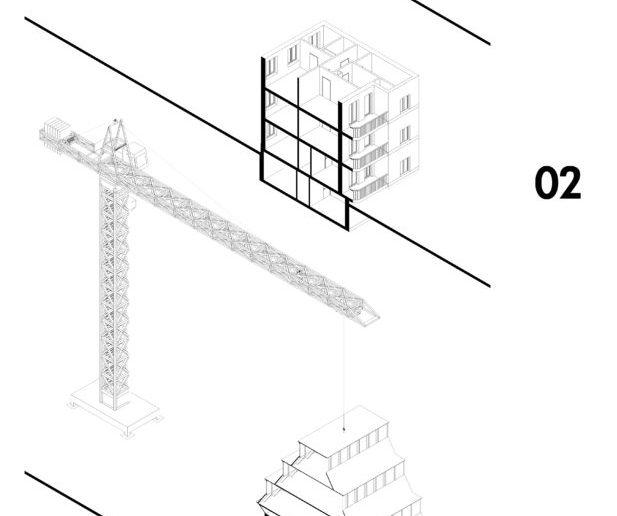 Basler Dach: Bauablauf