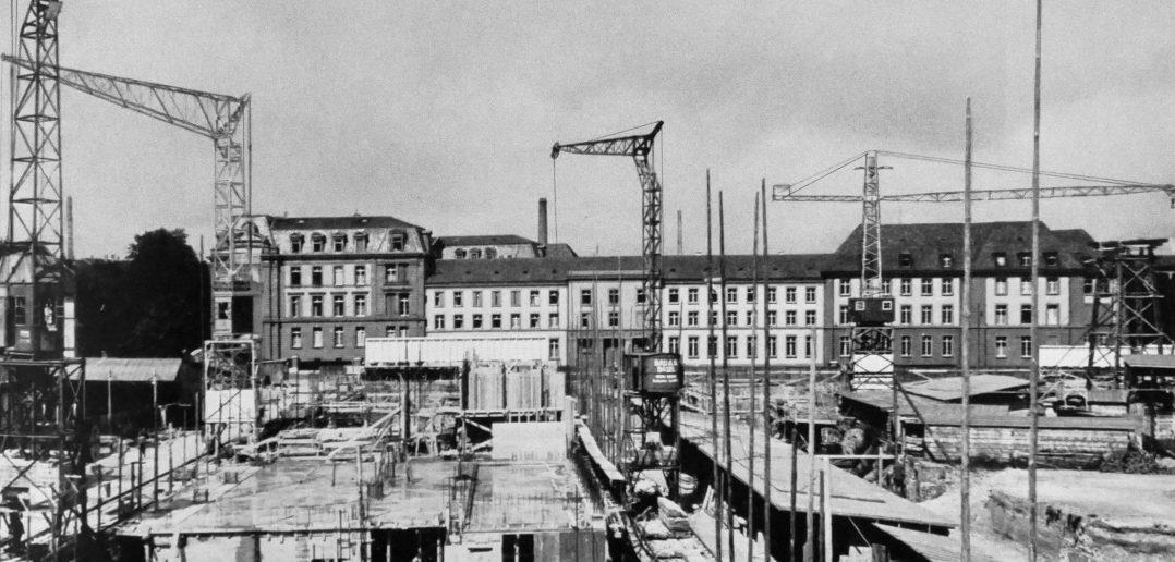 Baustelle August 1941 © Paul Butscher