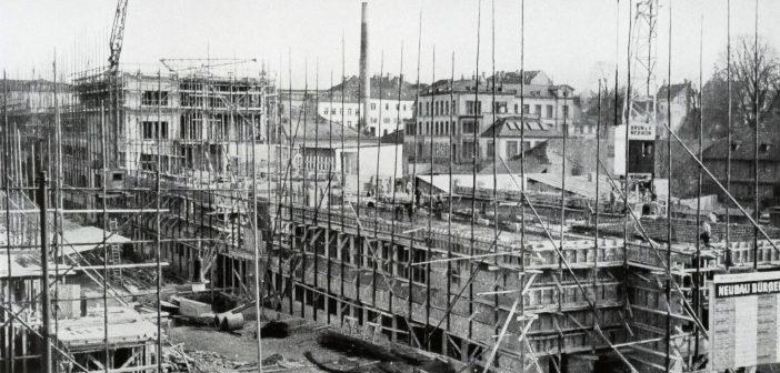Baustelle März 1942 © Paul Butscher
