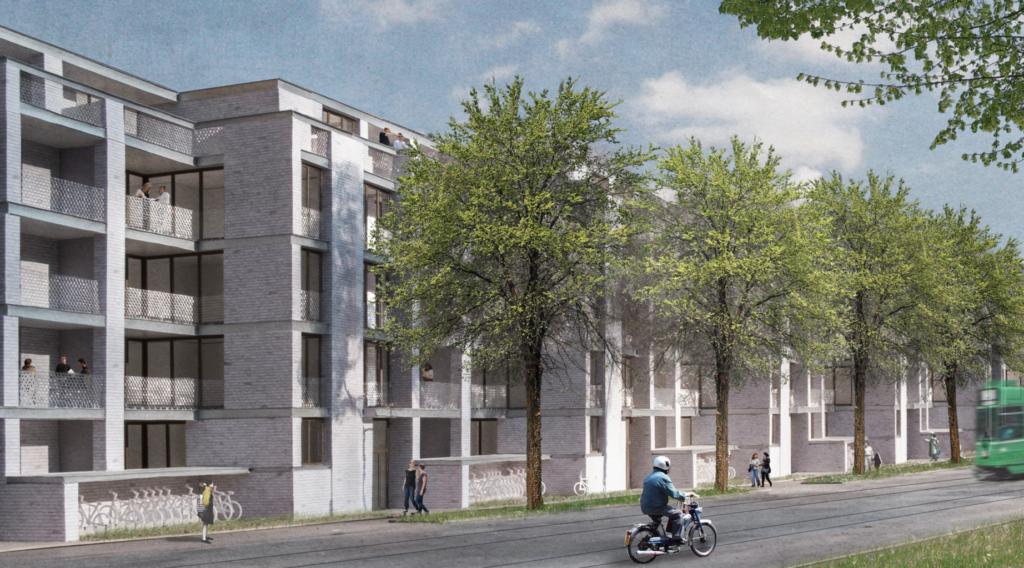 Neubau Genossenschaftswohnungen an der Burgfelderstrasse © Nord Architekten