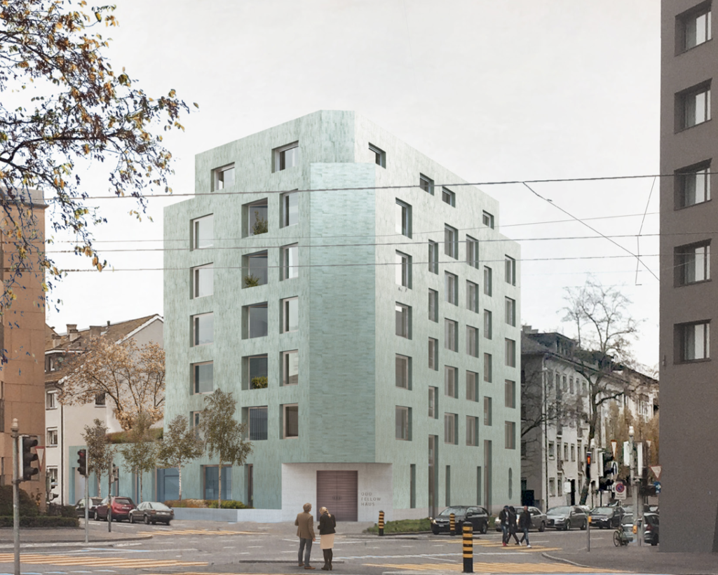 Studienauftrag Odd Fellows-Haus in Basel © Morger und Partner AG