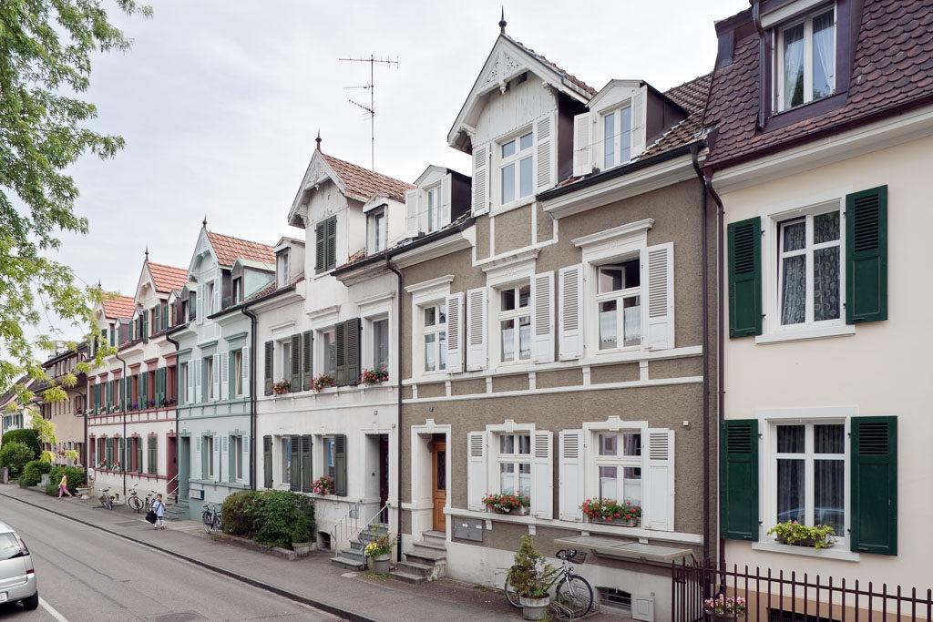 Arbeiterhäuser Schützenstrasse, Birsfelden © Börje Müller Fotografie