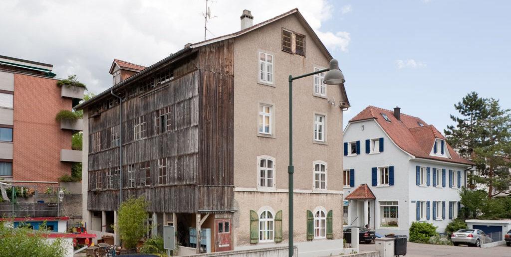 Mietskaserne Schulstrasse, Birsfelden © Börje Müller Fotografie