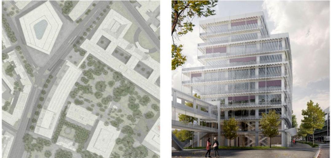 Unispital Perimeter B: Boltshauser Architekten
