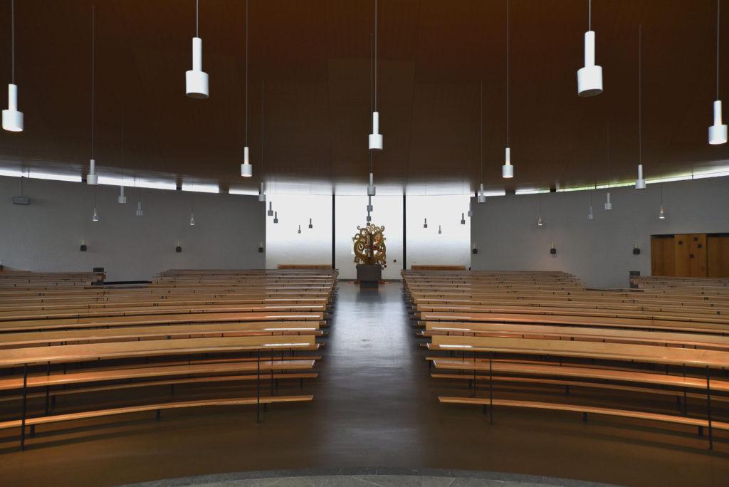 Römisch-katholische Kirche Bruder Klaus, Birsfelden © Architektur Basel
