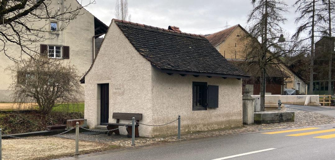 Das Buuchhüsli Nr. 85 ist geschützt und in gutem Zustand, Ziefen © Simon Heiniger / Architektur Basel