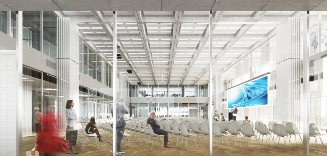 """Roche """"Flexible Office Building"""" in Grenzach-Whylen © Christ & Gantenbein"""