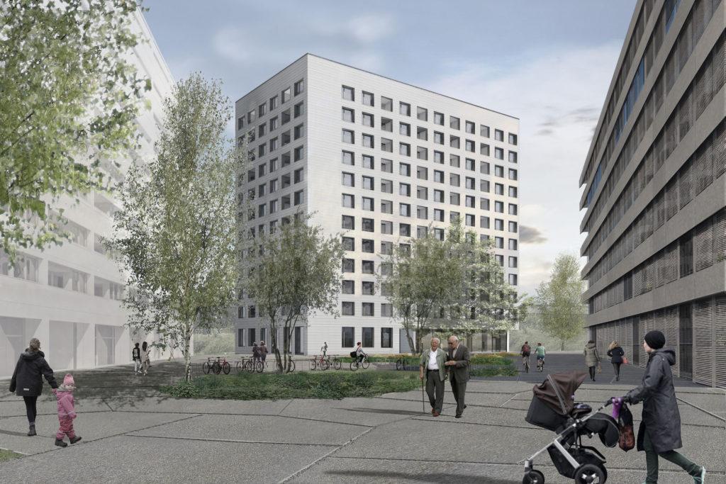 CityGate Baufeld B © SSA Architekten