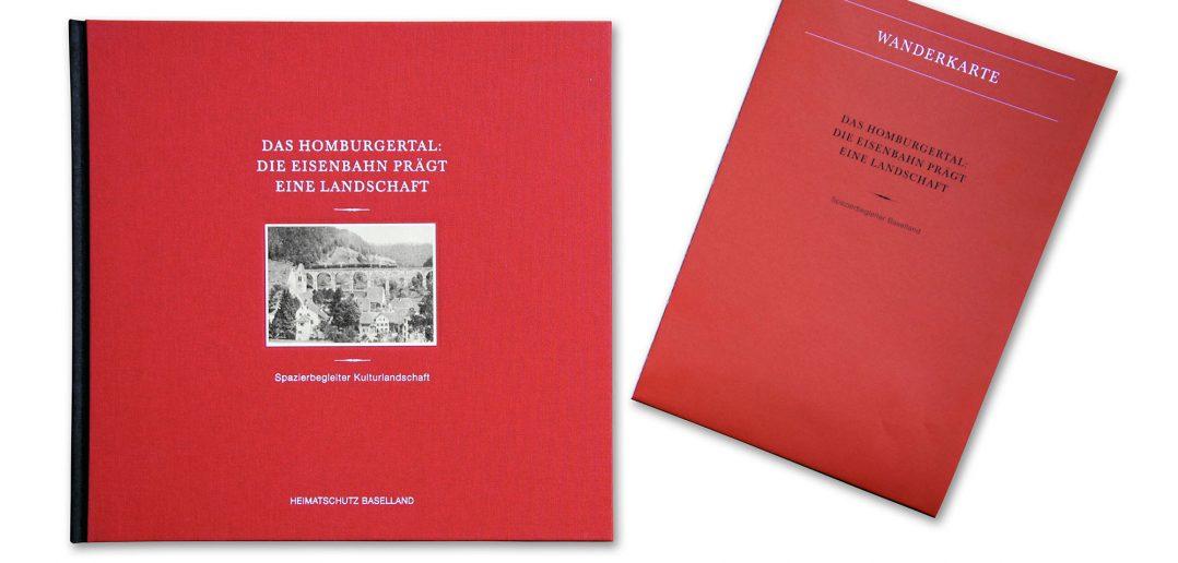 Lektüre für Zuhause; Karte für unterwegs, Cover © Baselbieter Heimatschutz