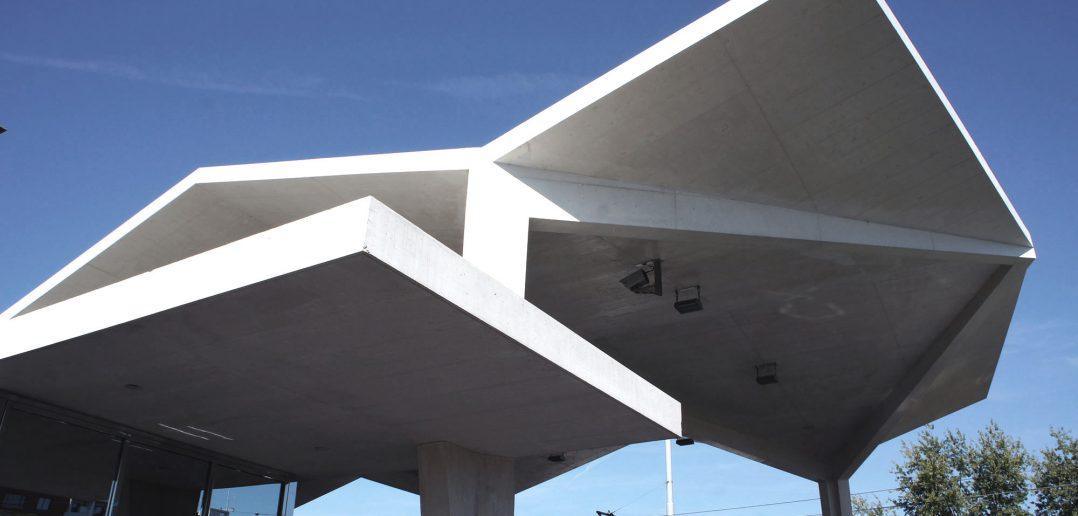 Zoll Basel Burgfelden, Überdachung und Abfertigungskabine © Architektur Basel